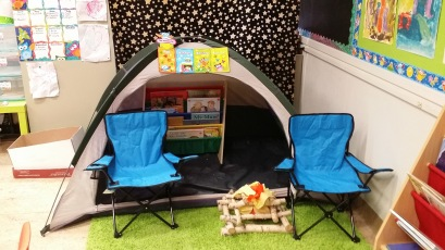 PA-reading tent